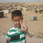 Fiesta de bienvenida para las niñas y niños del Sáhara