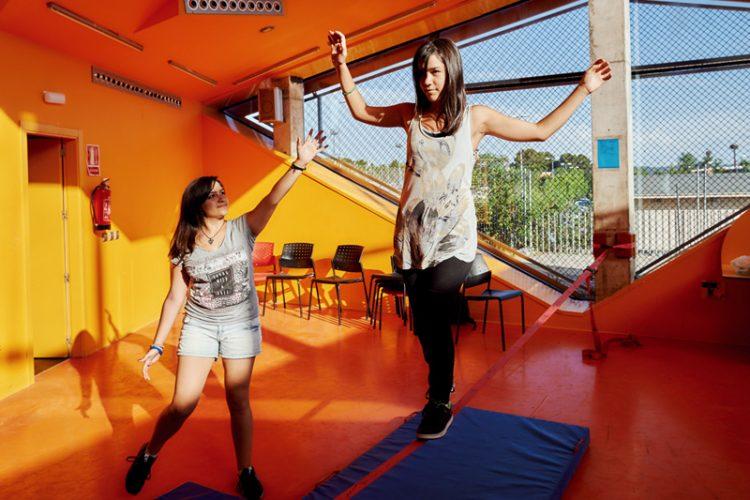 Deporte Joven: escalada, slackline, skate o parkour
