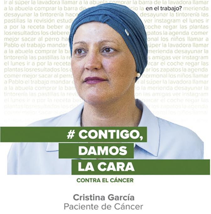 Muestra de la Asociación Española Contra el Cáncer