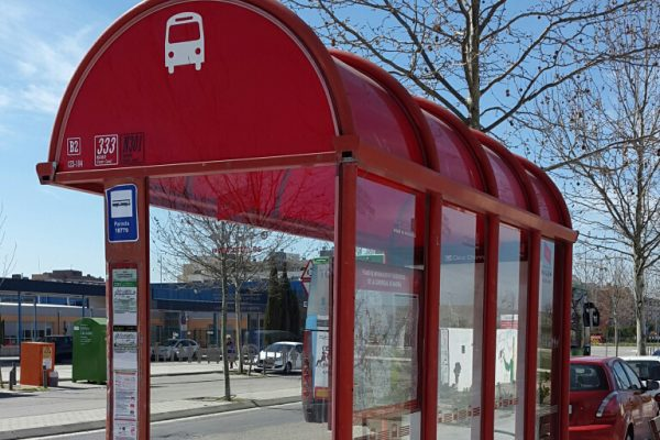 Nuevas marquesinas para la espera del autobús