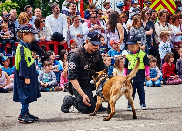Unidad Canina de Rivas, referente en España