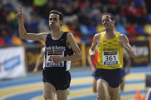 Víctor García, campeón de España en 3.000 m