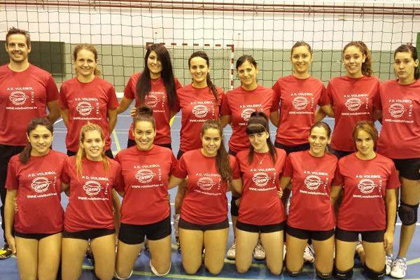El Voleibol Rivas sube a la división de plata