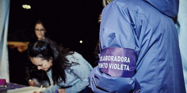 Unas fiestas con su Punto Violeta