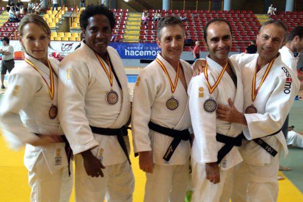 Paco Lorenzo, campeón de España de yudo