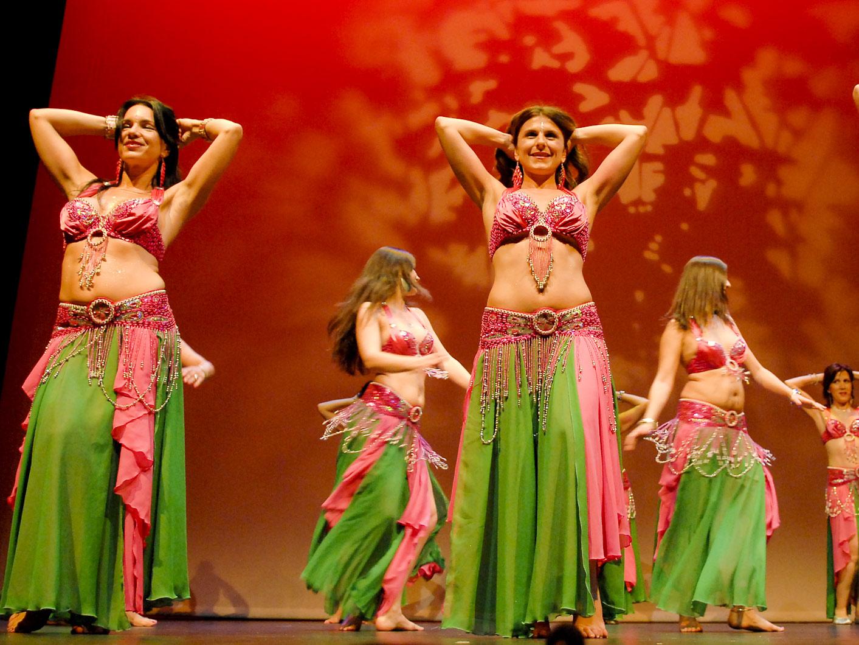 Festival solidario de danzas orientales.