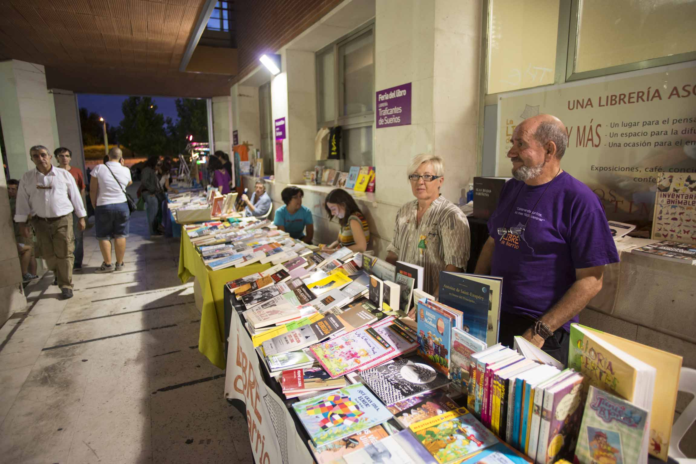 Pasa página: ven a la Feria del Libro de Rivas