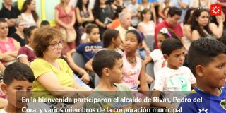 Las niñas y niños del programa 'Vacaciones en Paz' llegan a Rivas