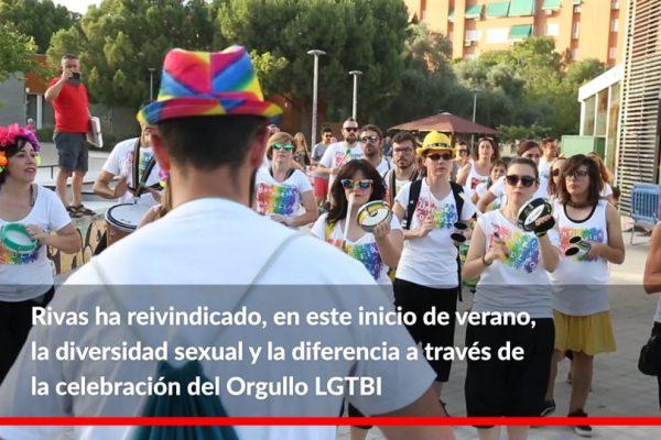 Semana del Orgullo LGTBI 2019. Así fue en Rivas
