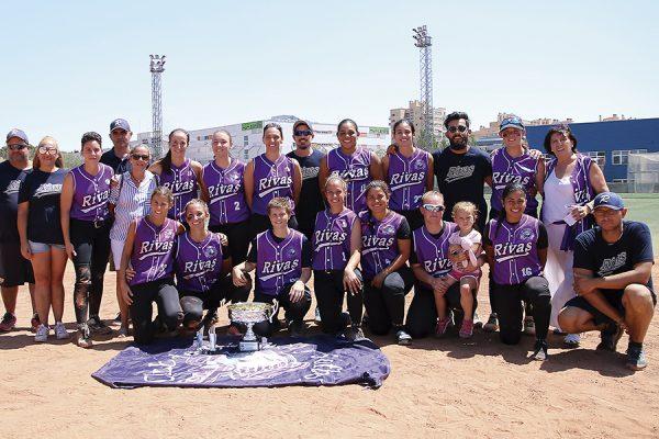 CBS Rivas: campeonas de Copa y bronce en Europa
