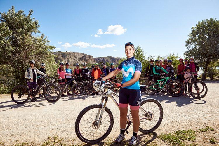 Ciclismo femenino por los parajes ripenses