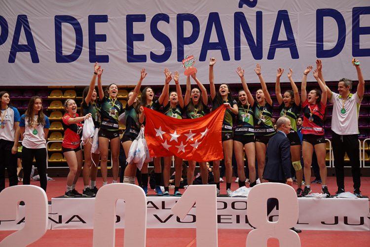 Voleibol: Rivas, campeonas cadetes de Madrid
