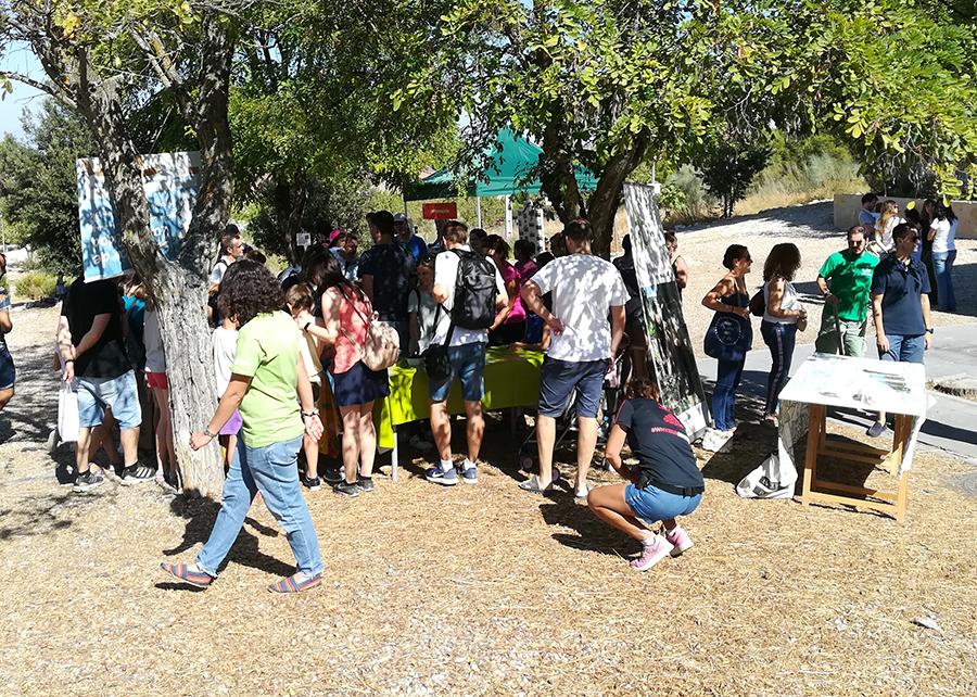 Fiesta hortelana familiar en el Chico Mendes