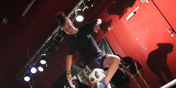 Fútbol freestyle: campeonato de España en Rivas