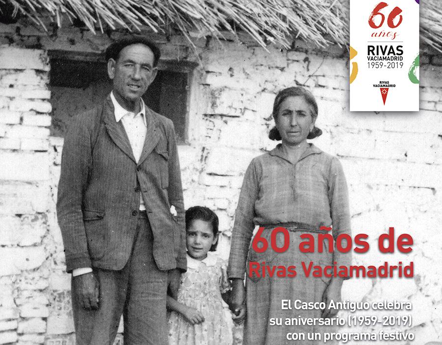 Feliz cumpleaños: 60 años de Rivas Vaciamadrid