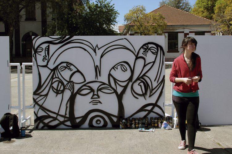 Un mes de arte urbano en La Casa+Grande