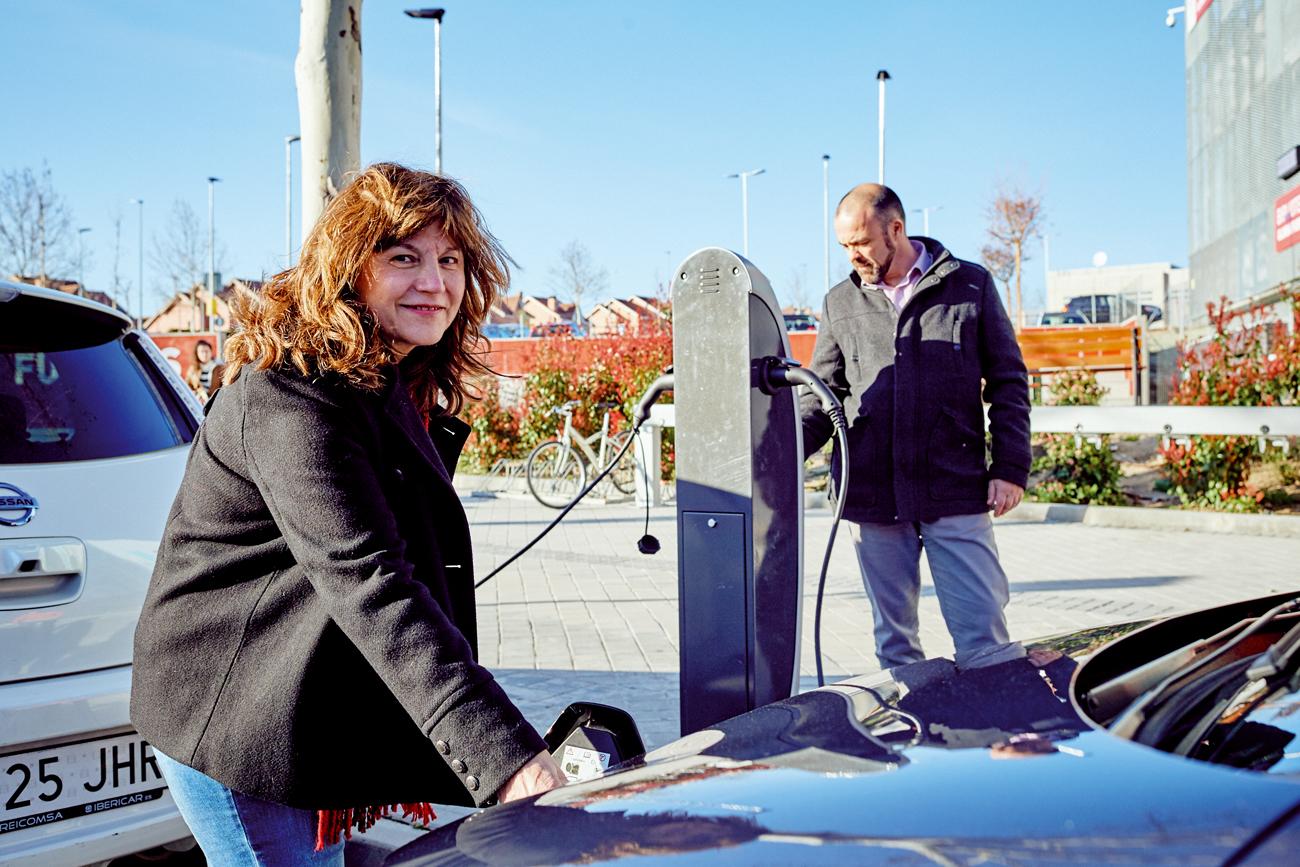 Coches eléctricos: ahorro de 12 toneladas de CO2