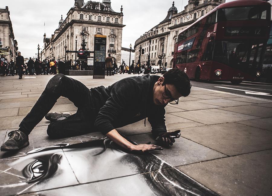 Pablo Cacho: un artista urbano en Londres