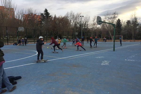 Deporte Joven: a practicar parkour o skate