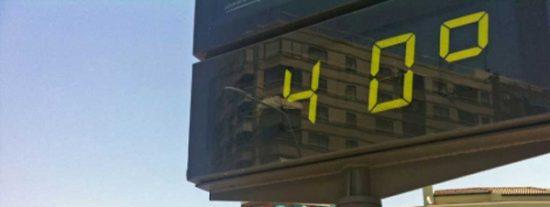 Alerta por calor: temperaturas que rozan los 40º