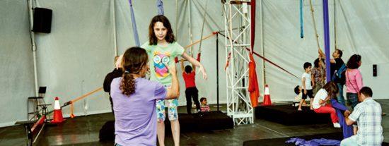 Escuela de circo: nuevo curso y nuevas piruetas