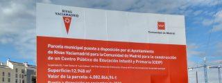 Rivas avanza en la consecución del nuevo colegio Mercedes Vera