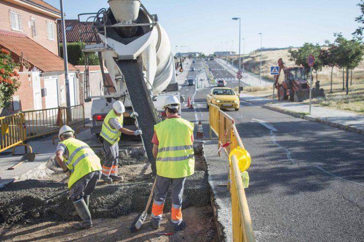 Rivas mejora 44 calles de la ciudad: 1,45 millones