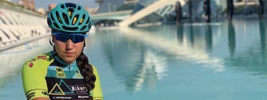 Rocío Núñez: campeona sub 23 de ciclismo en Madrid