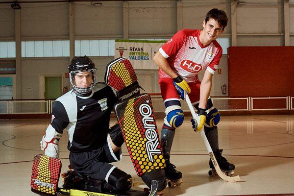 Campeones de Europa con la selección de hockey