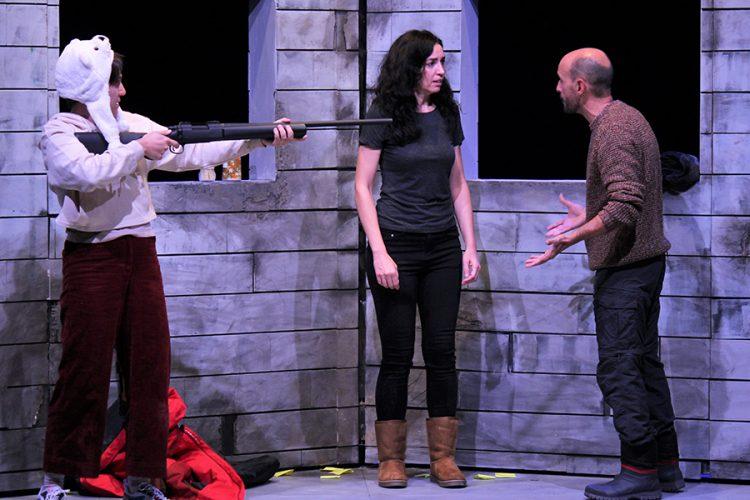 'La lengua pegada al hielo', teatro muy gélido