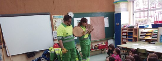Educación medioambiental en las aulas ripenses