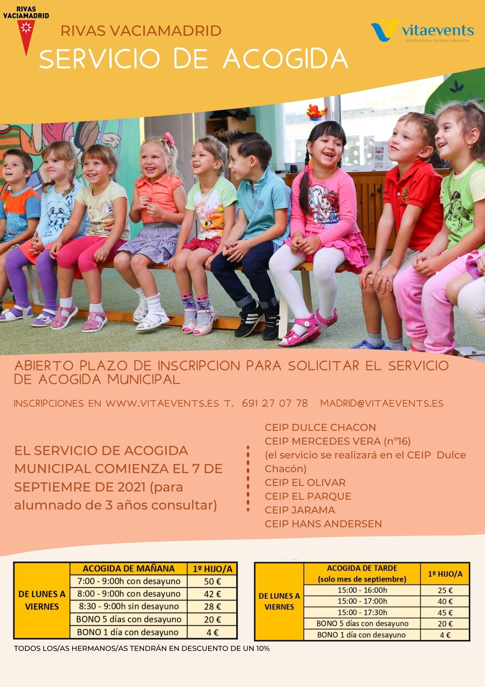 SERVICIO MUNICIPAL DE ACOGIDA EN COLEGIOS