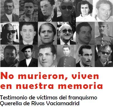 Presentación libro: 'No murieron viven en nuestra memoria'