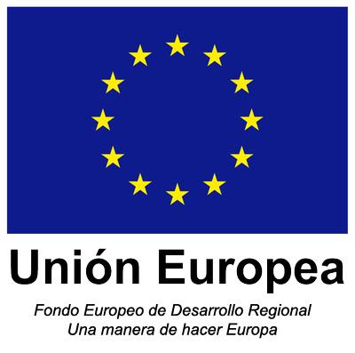 Proyecto cofinanciado al 50% mediante el programa operativo Fondo Europeo de Desarrollo Regional (FEDER) de crecimiento sostenible 2014-2020.