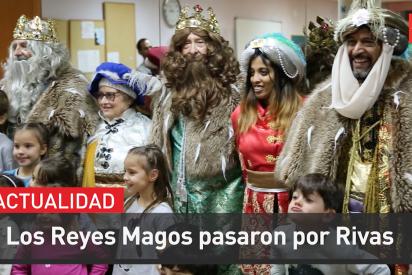 Los Reyes Magos pasaron por Rivas en 2020