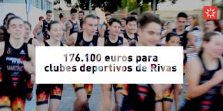 176.100 euros para clubes deportivos de Rivas