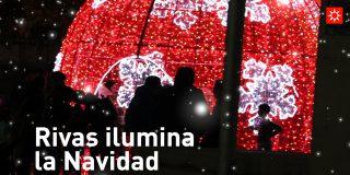 Rivas ilumina la navidad