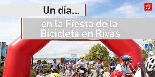 Un día en la Fiesta de la Bicicleta en Rivas