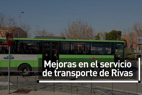 Mejoras en el transporte de Rivas en enero de 2020