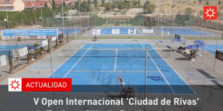 V Open Internacional 'Ciudad de Rivas' de Tenis en Silla de Ruedas