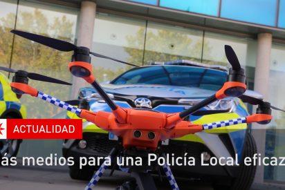 Más medios para Policía Local