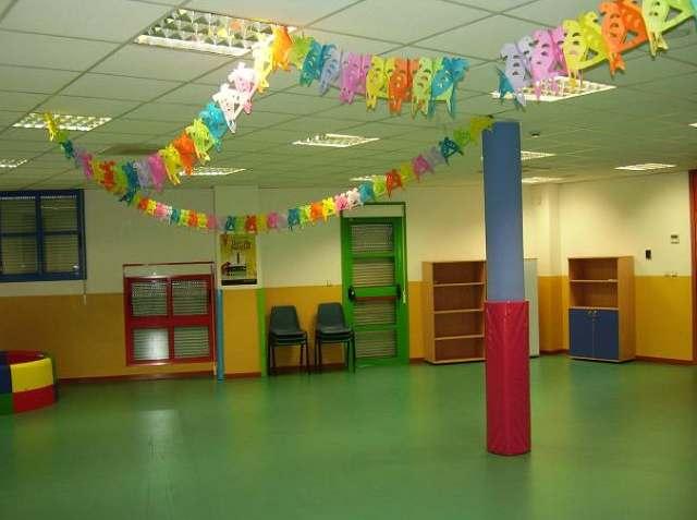 Cesión de espacios sala de cumpleaños infantiles