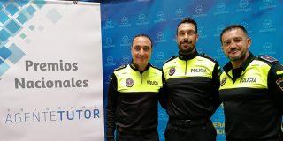 Policía Local, premiada por su labor en los coles