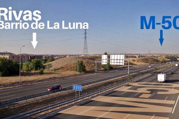 Enlace M-50: presentado el proyecto de trazado