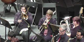 Concierto de la banda de la Escuela de Música
