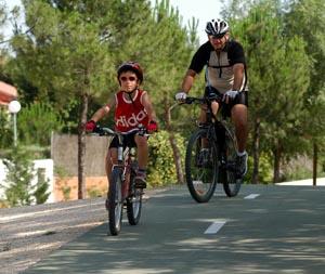 Conoce el mapa del carril bici de Rivas