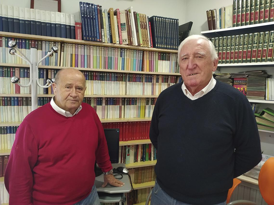 Epifanio y Alberto: mayores que trabajan por mayores