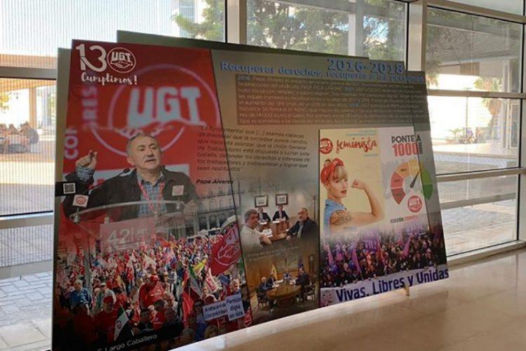 Exposición: UGT, 130 años de luchas y conquistas