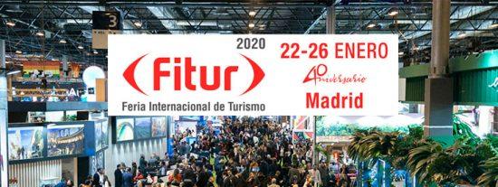 Rivas se muestra en Fitur 2020, la feria del turismo