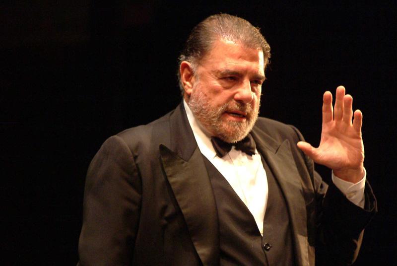 Juan Luis Galiardo, el actor contundente